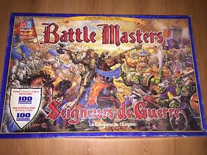 Battle Masters Board Game !