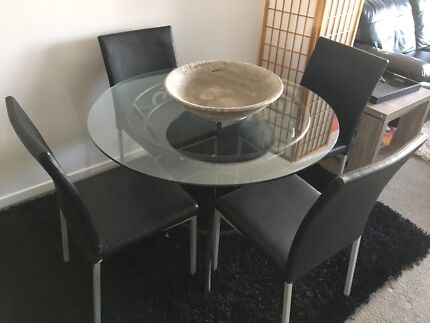 Dining Table and 4 Chairs - make an offer