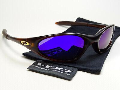 Oakley Minute Rootbeer Violet Polarized Sonnenbrille Twenty Romeo Splice Juliet