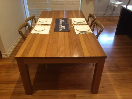 Messmate Dining Table - Recycled Timber