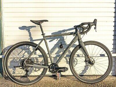 Gravel Bike SERIOUS OROSHI 2019 MEN GRAY 56cm