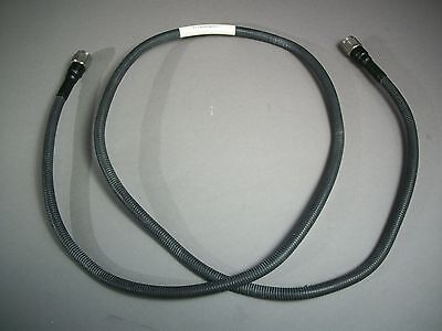 Lot Of 2 Flexco Microwave 8227 Coaxial Cable Assy F342 N Male To N Male