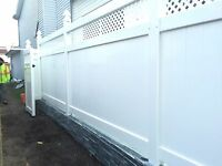 We build you the strongest fence with a Pvc Tuff-fence Install.
