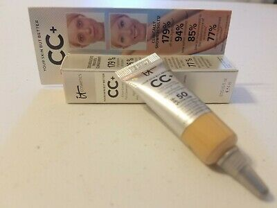 It Cosmetics Your Skin But Better CC+ Full Coverage Cream LIGHT 0.135fl.oz