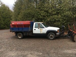 1998 Chevrolet 3500 4x4 Diesel Dump Truck