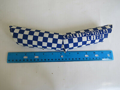 NOS Scott/'s FLITE Vintage BMX Old School Bike BLUE V-TYPE HANDLEBAR PAD