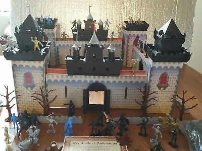 MARX MEDIEVAL PLAYSET CASTLE OF NOBLE KNIGHTS #4710 VINTAGE.BRAND NEW, ORIG.BOX