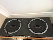"Pioneers champion dual 12"" subs with amp Farrar Palmerston Area Preview"