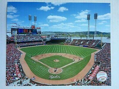 Cincinnati Reds Glossy 8 X 10 Photo US Great American Ball Park  DM1