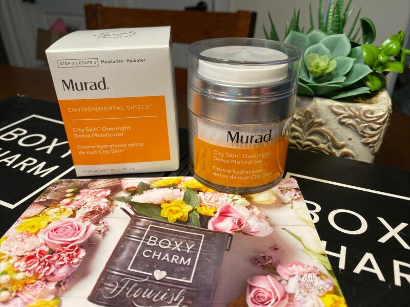 Murad Environmental Shield City Skin Overnight Detox Moisturizer 1.7 oz Sealed