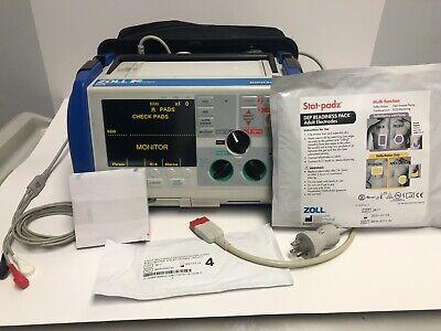 Zoll M Series Biphasic Defibrillator Tested BATTERY  3 lead ECG cable, NEW PADZ segunda mano  Embacar hacia Argentina