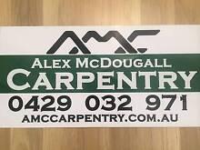 Alex McDougall Carpentry Bunbury 6230 Bunbury Area Preview