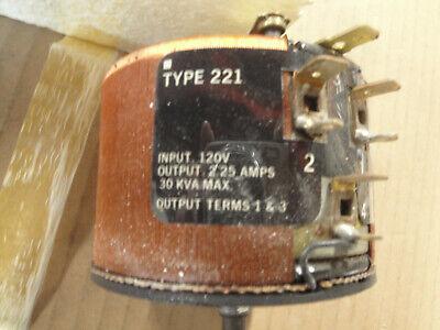 Nos Staco 221- 2.25 Amp Unused Variac Powerstat Autotransformer Audio Tube Amp