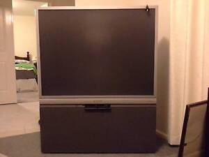 Large Panasonic Rear Projection Television Bairnsdale East Gippsland Preview