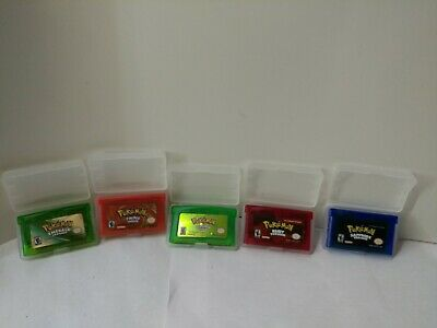 Pokemon Emerald, Sapphire, Ruby, FireRed, LeafGreen (GBA Lot) Gameboy
