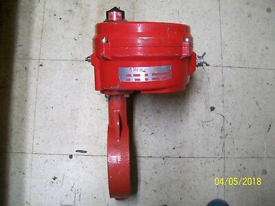 BRAY ELECTRIC ACTUATOR BUTTERFLY VALVE , 70-0121-11300-536 (needs new seal)