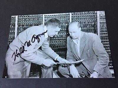 HAROLD AGNEW († 2013) Hiroshimabombe/Enoal Gay  signed Foto 10 x 15 RARITÄT