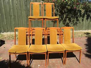 original retro burgess furniture dining table and chairs unique
