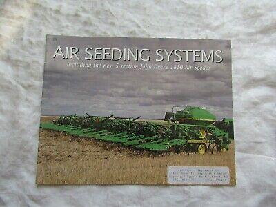 1997 John Deere 1810 Air Seeder System Brochure