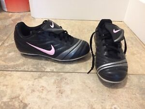 Assorted girls soccer cleats