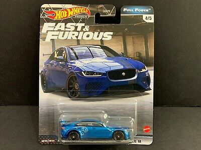 Hot Wheels Jaguar XE SV Project 8 Fast and Furious Full Force GBW75-956H 1/64