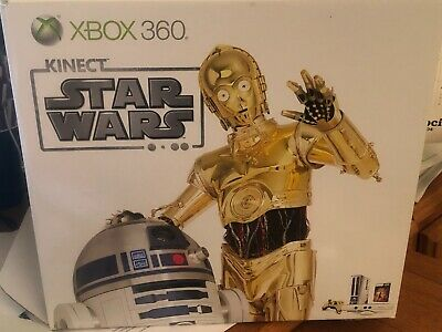 Microsoft Xbox 360 Kinect Star Wars Limited Edition 320GB Matte White