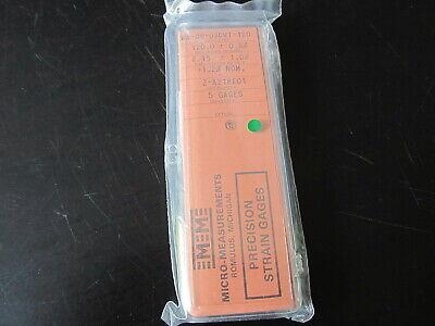 Vishay Micro Measurements Precision Strain Gage Wa-09-030wt-120 5 Pack