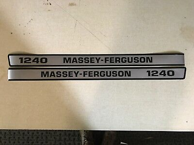Massey Ferguson 1240 Decals