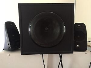 Logic tech computer speakers Gray Palmerston Area Preview