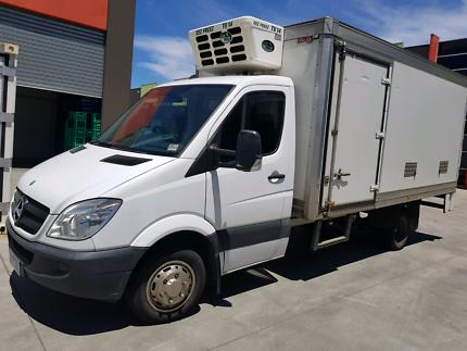Mercedes sprinter refrigerated truck