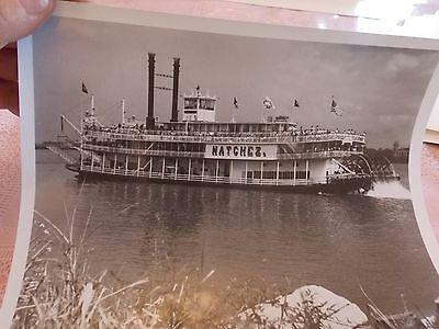 1900 Riverboat Natchez Mississippi ? Photo 8 x 10