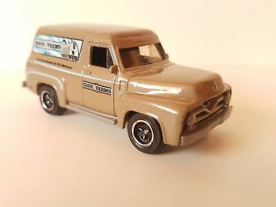 Matchbox Ford F100, Panel Delivery 1955, MB 733, 1:69, 2007, braun, metallic,