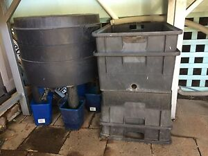 Worm farms x 2 can o worm and 4 tier worm farm Shortland Newcastle Area Preview