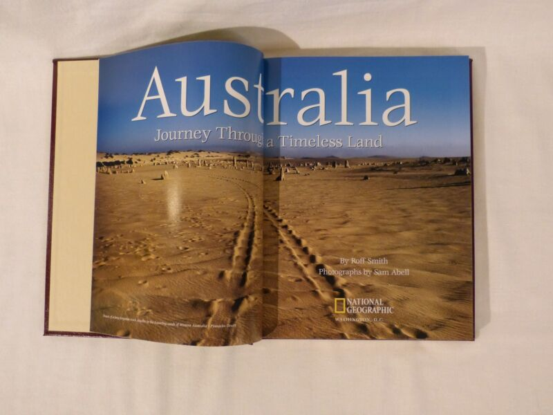Australia deluxe brand new National Geographic book by Roff Smith GIFT QUALITY