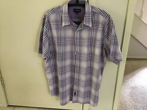 Gazman Short Sleeve Cotton XL Shirt Secondhand