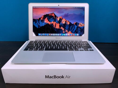 APPLE MACBOOK AIR 11 INCH LAPTOP | TURBO BOOST | 3 YEAR WARRANTY | SSD