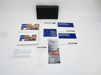 2005 Subaru Forester Owners Manual With Case  Subaru Forester Owners Manual