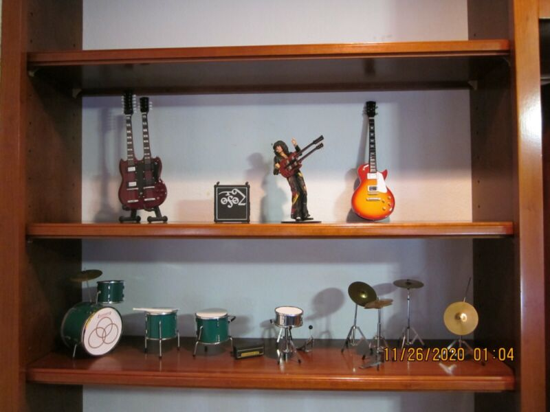 Jimmy Page Led Zeppelin Figurines--Everything In Photo