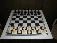 CHESS BOARD & CHESS PIECES x 2 SETS Pooraka Salisbury Area Preview