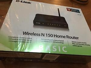 D-Link Wireless N150 home router in good condition Perth Perth City Area Preview