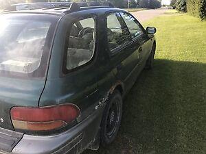 1998 Subaru awd wagon.