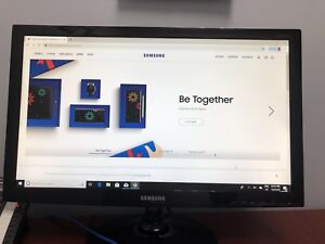 Samsung LED Monitor with Key Board and Mouse