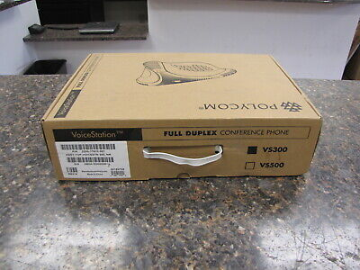 Polycom Voicestation 300 Conference Phone With Wall Module In Box