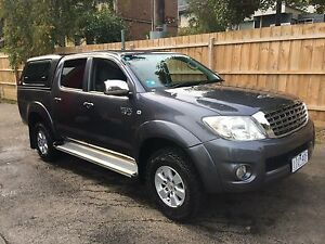2010 Toyota Hilux Ute with Electric brakes Emerald Cardinia Area Preview