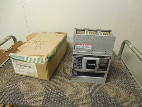 Siemens Jxd63s400aacsd Jxd63s400a Circuit Breaker W/ S11jld6, A01jldlv New