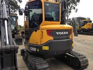 Volvo ECR58D Excavator Smeaton Grange Camden Area Preview