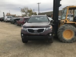2011 KIA Sorento, for parts only