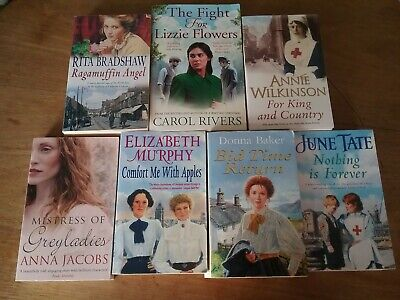 Job Lot Bundle 7x Historical Novels Books Carol Rivers Annie Wilkinson RBradshaw