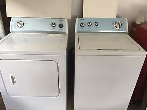Whirlpool Washer and Dryer 2009