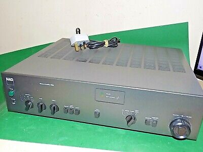 NAD Electronics 3130 Stereo Amplifier AMP Grey Vintage Phono Quality Unit